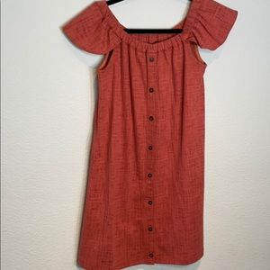 Madewell Off The Shoulder Dress